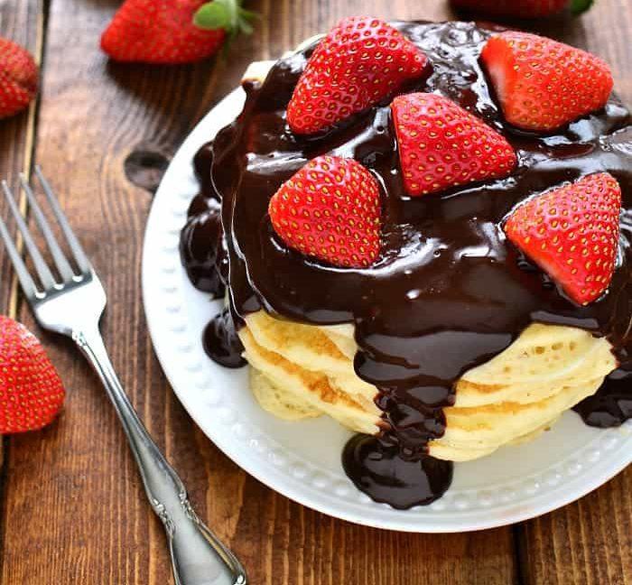 Rețetă Pankees cu Ciocolată