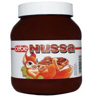 Crema Tartinabila de Cacao cu Alune, Cebe Nussa, 400g