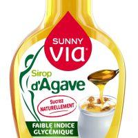 Sirop de agave Sunny Via 350g