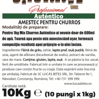 Churros Mix Professional Auténtico 10kg